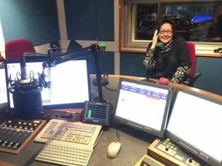 Sam on radio